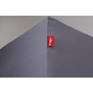 R Up Passt Spannbettlaken 180x200 200x220 Bis 35cm Höhe Dunkelgrau
