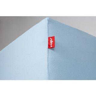 R Up Passt Spannbettlaken 180x200 200x220 Bis 35cm Höhe Hellblau 100